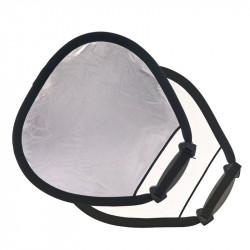 Lastolite LR3531 Trigrip Reflector 45cm Tela Plateado/Blanco