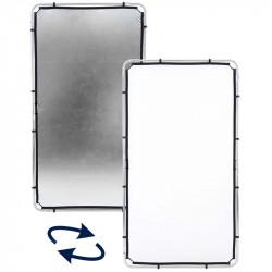 Lastolite Skylite Tela  Blanco/Plateado de 1.1 x 2 mts (solo tela)