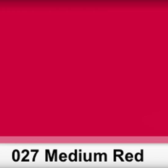 Rosco 027SR Pliego Medium Red 50cm x 60 cm