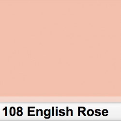 Lee Filters  108S Pliego English Rose 50cm x 60 cm