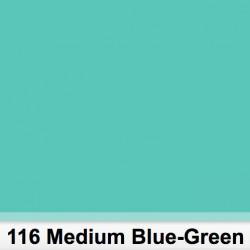Lee Filters 116S Pliego Medium Blue Green 50cm x 60 cm