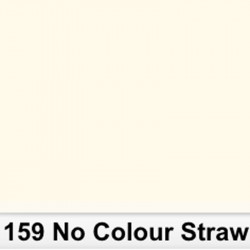 Lee Filters  159S Pliego No Colour Straw 50cm x 60 cm
