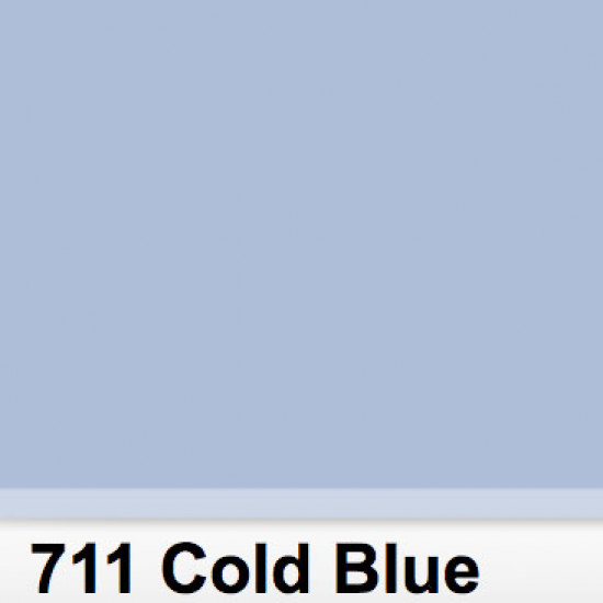 Lee Filters 711S Pliego Cold Blue 50cm x 60 cm