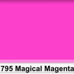 Rosco 795RS Pliego Magical Magenta 50cm x 60 cm