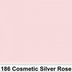 Lee Filters 186R Rollo Cosmetic Silver Rose 1,22 x 7,62 mts