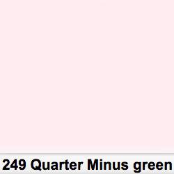 Lee Filters Pliego 249S Quarter Minus Green 50cm x 60cm