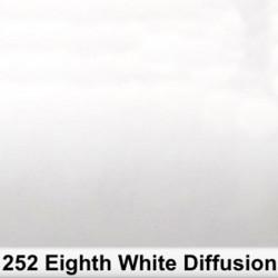 Rosco Rollo 1/8 White Diffusion 252R 1,22 x 7,62 mts