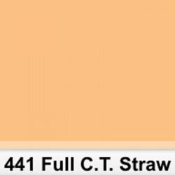 Lee Filters Pliego 441S Full C.T. Straw 6500K a 3200K  50cm x 60cm