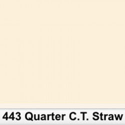 Lee Filters Pleigo 443S 1/4 C.T. Straw 6500K a 5100K  50cm x 60cm