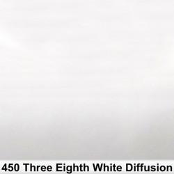 Rosco Rollo 3/8 White Diffusion 450R 1,22 x 7,62 mts