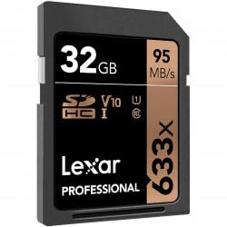 Lexar SDHC 32GB UHS-I / U1 Lectura 95MB/s V10
