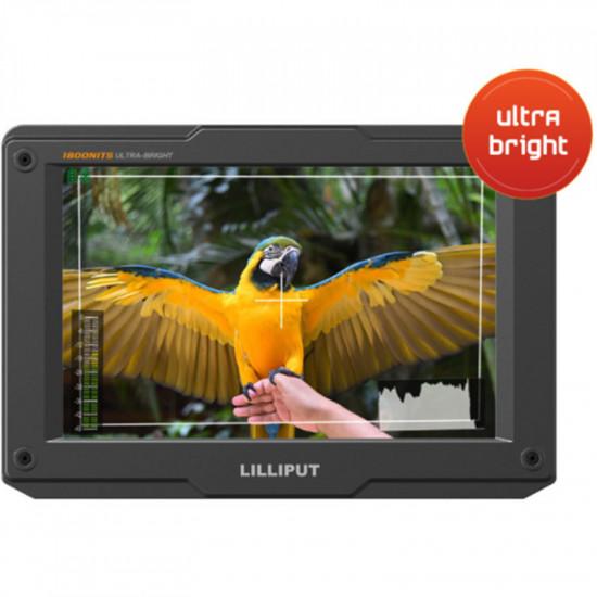 "Lilliput H7S Monitor Portátil Ultrabrillante 4K HDMI / 3G-SDI de 7"""