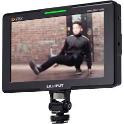 "Lilliput Q7-12G Monitor Profesional Ultrabrillante 4K 12G-SDI de 7"""