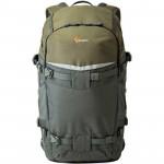 Lowepro FlipSide Trek BP 450 AW Mochila para cámara y tablet (gris / verde oscuro)
