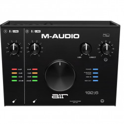 M-Audio AIR192-6 Interface de audio USB 2x2 con MIDI
