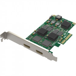 Magewell Captura de 2 HDMI a PCIe x1 Pro Capture HDMI Card