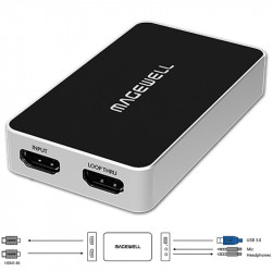 Magewell USB Captura de HDMI Plus + embedded audio