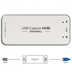 Magewell USB Captura de HDMI + embedded audio