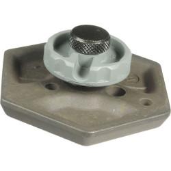 """Manfrotto 030-14 Galleta Hexagonal con perno 1/4"""""""