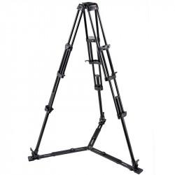 Manfrotto 545GB Trípode Vídeo Aluminio Pro y estrella de piso