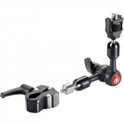 Manfrotto 244MICRO-Kit Brazo Micro Arm con sistema anti rotación y nano clamp