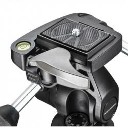 Manfrotto MK290XTA3-3W Trípode Fotografía 290 Xtra Aluminio con Cabezal 804 3way