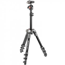 Manfrotto Befree ONE Trípode ULTRA Compacto en Gris