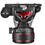 Manfrotto Nitrotech 608 Cabezal de Video hasta 8Kg Flat base