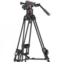 Manfrotto Kit Nitrotech 612 Cabezal Video con trípode 645 FAST