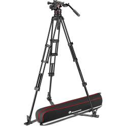 Manfrotto Kit de vídeo NitroTECH 612 con trípode estrella al piso