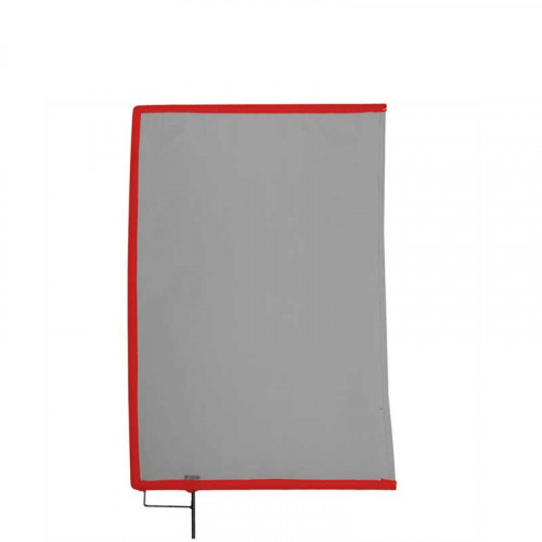 "Matthews Bandera Doble Black Open End Scrim 45cm x 60cm (18""x24"")"