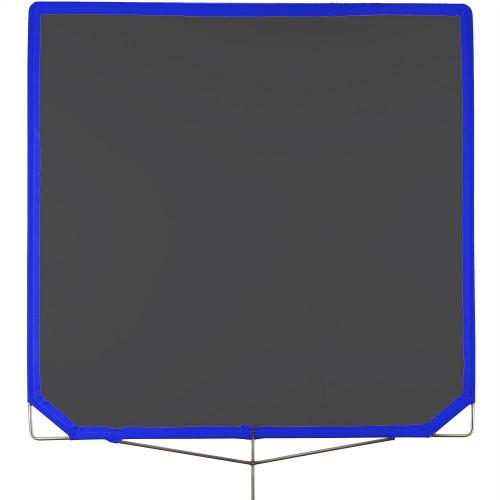 """Matthews Triple Black Bandera Frame Scrim 120cm x 120cm  (48""""x48"""")"""
