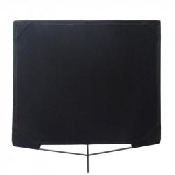 "Matthews Bandera de Corte Black Flag 100cm x 100cm  (40""x40"")"