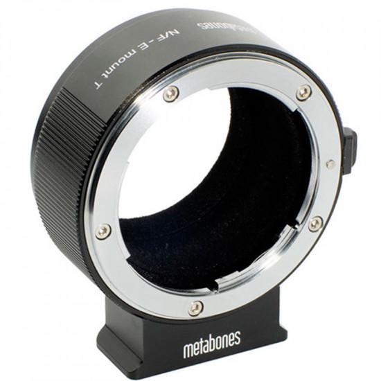 Metabones MB_NF-E-BT2 Adaptador de Lentes Nikon F a E Mount T (Black Matt) II