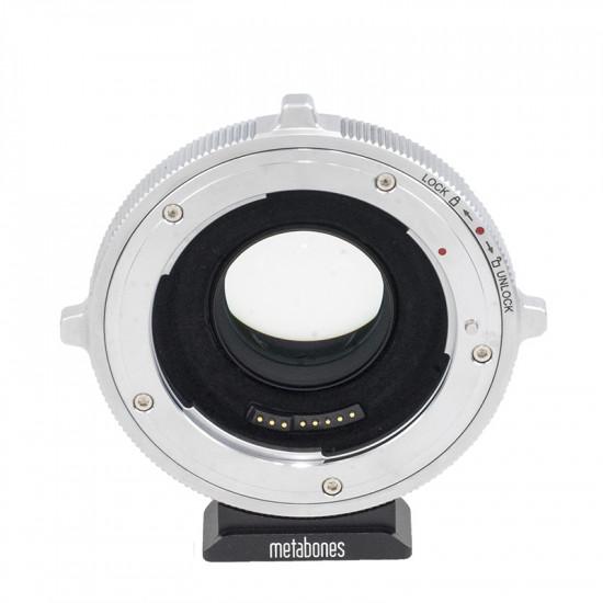 Metabones SPEF-m43-BT5 Adaptador de Lentes EF a Micro 4/3 Speed Booster Ultra 0,71x