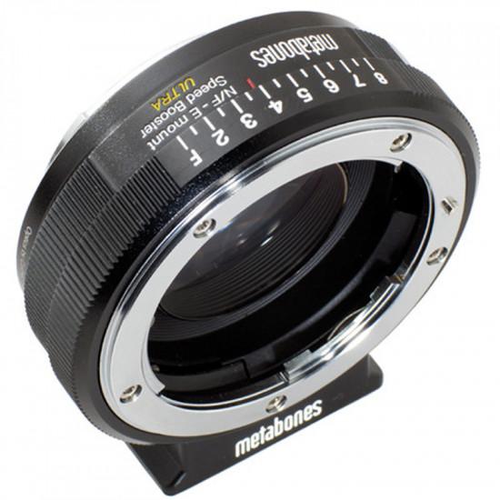 Metabones Adaptador de Lentes Nikon G  a Sony E Mount Speed Booster Ultra 0.71x