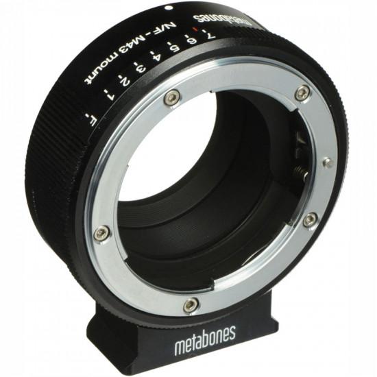 Metabones MB_NFG-m43-BM1 Adaptador de Lentes Nikon G a Micro 4/3 (Black Matt)