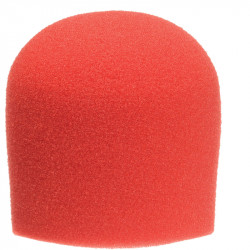 Windtech 904 Paraviento Rojo para Mic de Mano