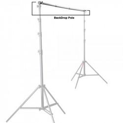 Photoflex BP412 Barra Adjustable para sostener Telas  / Background 3.60mts