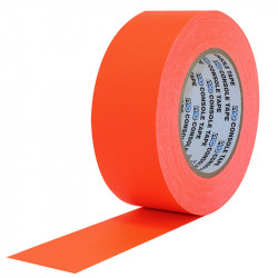 "Protapes Console Tape en 5cm / 2 "" de ancho ORANGE FLUORESCENTE"