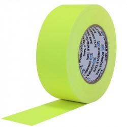 """Protapes Console Tape en 5cm / 2 """" de ancho AMARILLO FLUORESCENTE"""