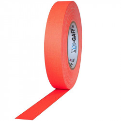 "Protapes PG1FLX20ORG Gaffer Mate Compact 1 "" x 20 Yardas Naranja Fluorescente"