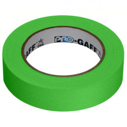 "Protapes PG1FLX25GREEN Gaffer Mate Compact 1 "" x 25 Yardas VERDE Fluorescente"