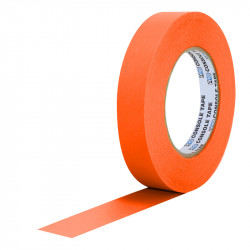 "Protapes Console Tape en 2,5cm / 1 "" de ancho ORANGE FLUORESCENTE"