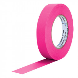 "Protapes PG1FLX20PINK Gaffer Mate Compact 1 "" x 20 Yardas PINK Fluorescente"