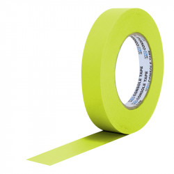"Protapes PG1FLX20YEL Gaffer Mate Compact 1 "" x 20 yardas AMARILLO FLUORESCENTE"