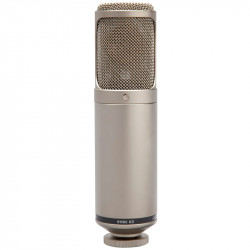 """Rode K2 Micrófono de Estudio 1"""" Ultra Low Noise Patrón Variable"""