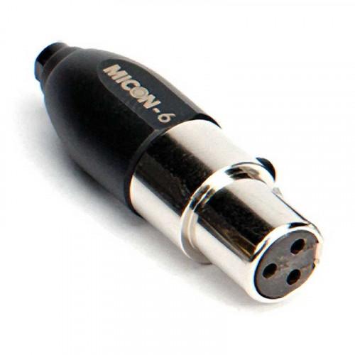 Rode Micon-6 Adaptador para Røde para HS1, Pinmic y Lavalier con conector Mini XLR de 3 pins