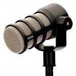 Rode PodMIC Micrófono Podcast dinámico en kit con Interface AI-1