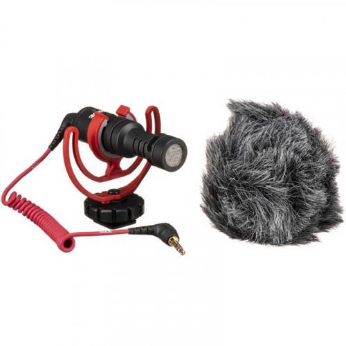 Rode VideoMicro Micrófono Ultra Compacto Shotgun para Cámaras